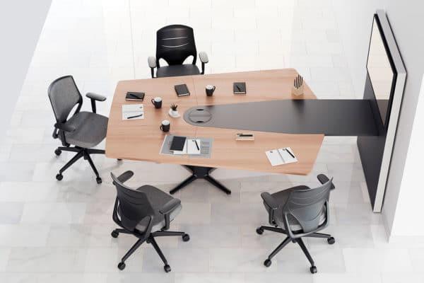 Power meeting furniture