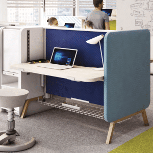 coloured stand up desk
