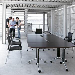 TRAMA folding meeting tables