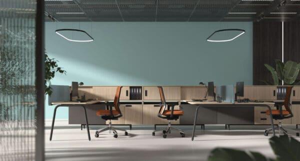ROUND Desk System